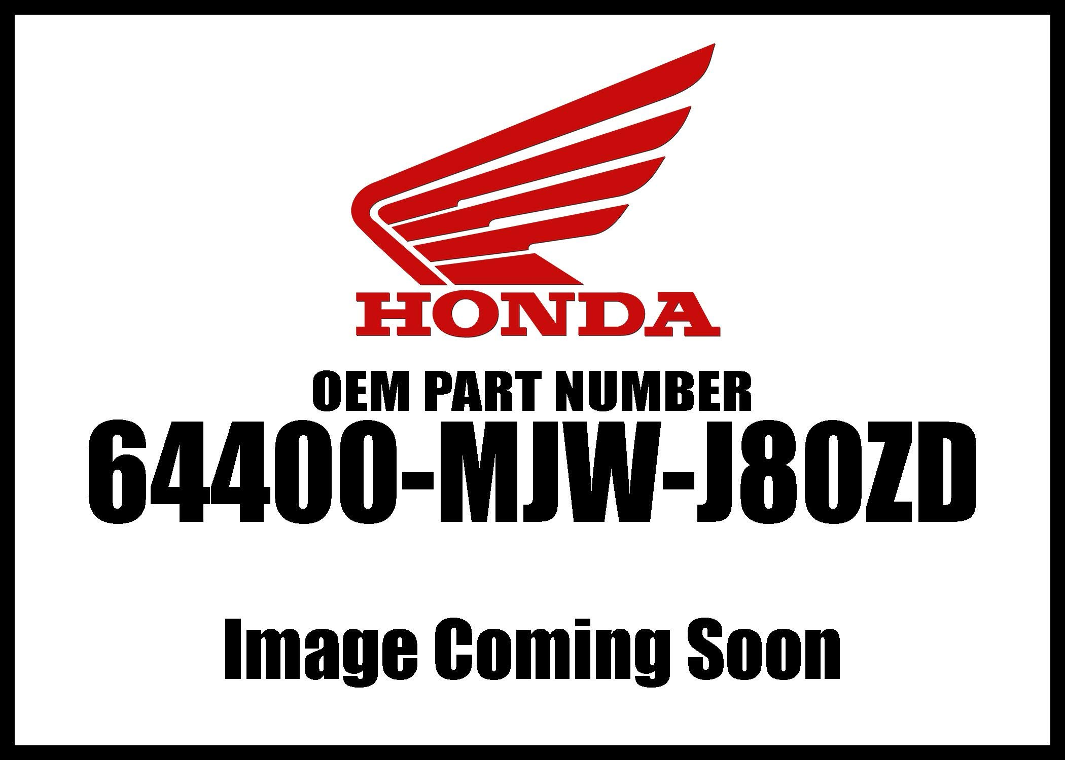 Honda 2016-2018 Cb Left Type1 Cowl Set 64400-Mjw-J80zd New Oem
