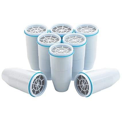 .com: zerowater replacement filters 8-pack bpa-free ...