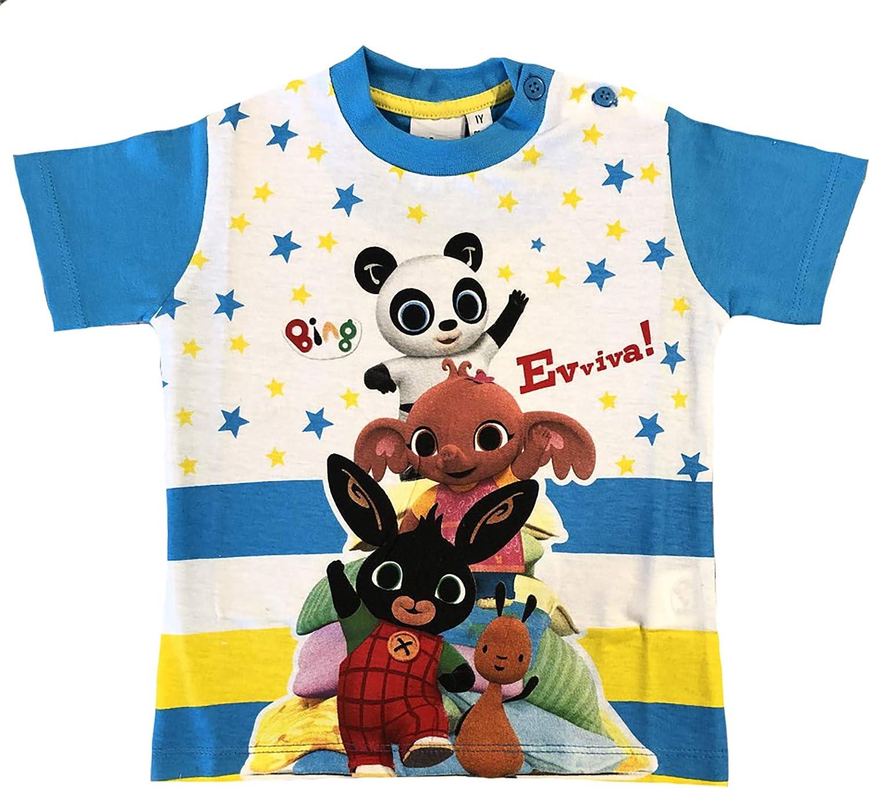 -Bing T-Shirt Coniglietto Mis. 1 2 3 4 5 Anni Estate 2020