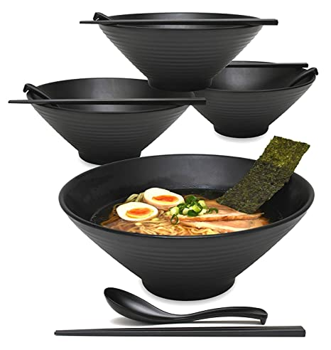RICE BOWL AND CHOPSTICKS 6 SETS OF JAPANESE CHINESE DINING SETS SUPPLIED SPOONS