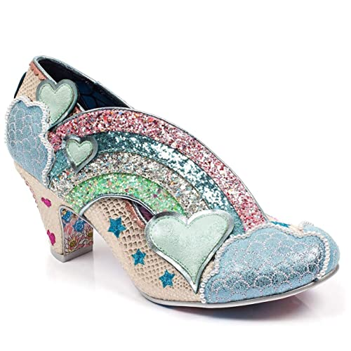 Irregular Choice Irregular Choice I Just Gnome It Women's Rainbow Sparkle Heels