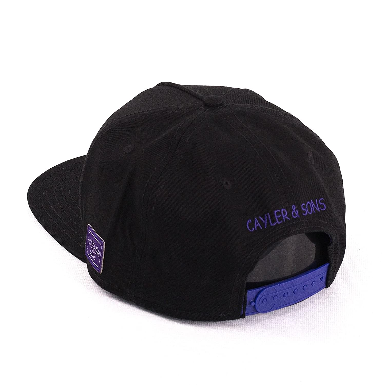 Gorra Cayler & Sons - C&S Wl Pacenstein negro/morado/multi talla ...