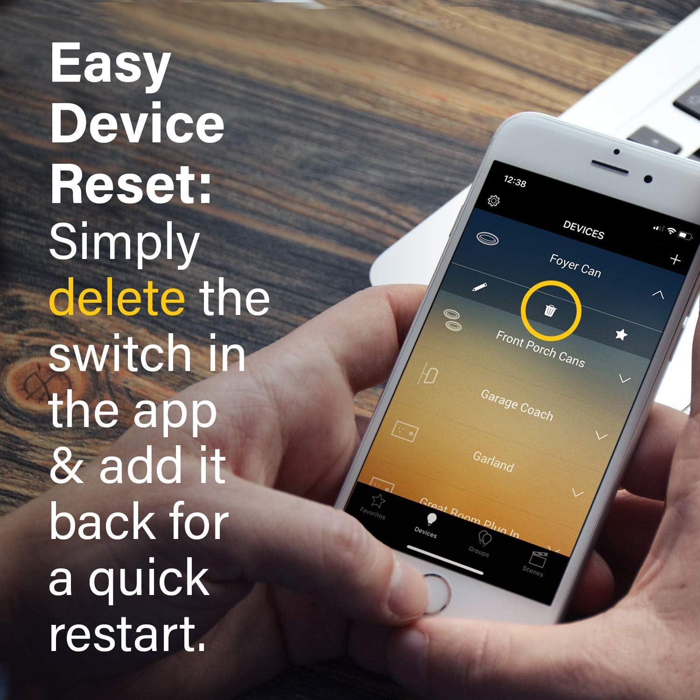 White Smart Wi-Fi Switch Legrand Pass /& Seymour Radiant WWRL50WHCCV2 Tru-Universal Enabled Dimmer