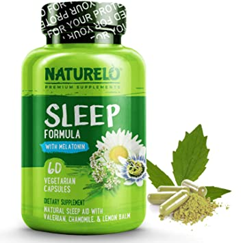 Amazon.com: NATURELO Natural Sleep Aid - Con Melatonina ...