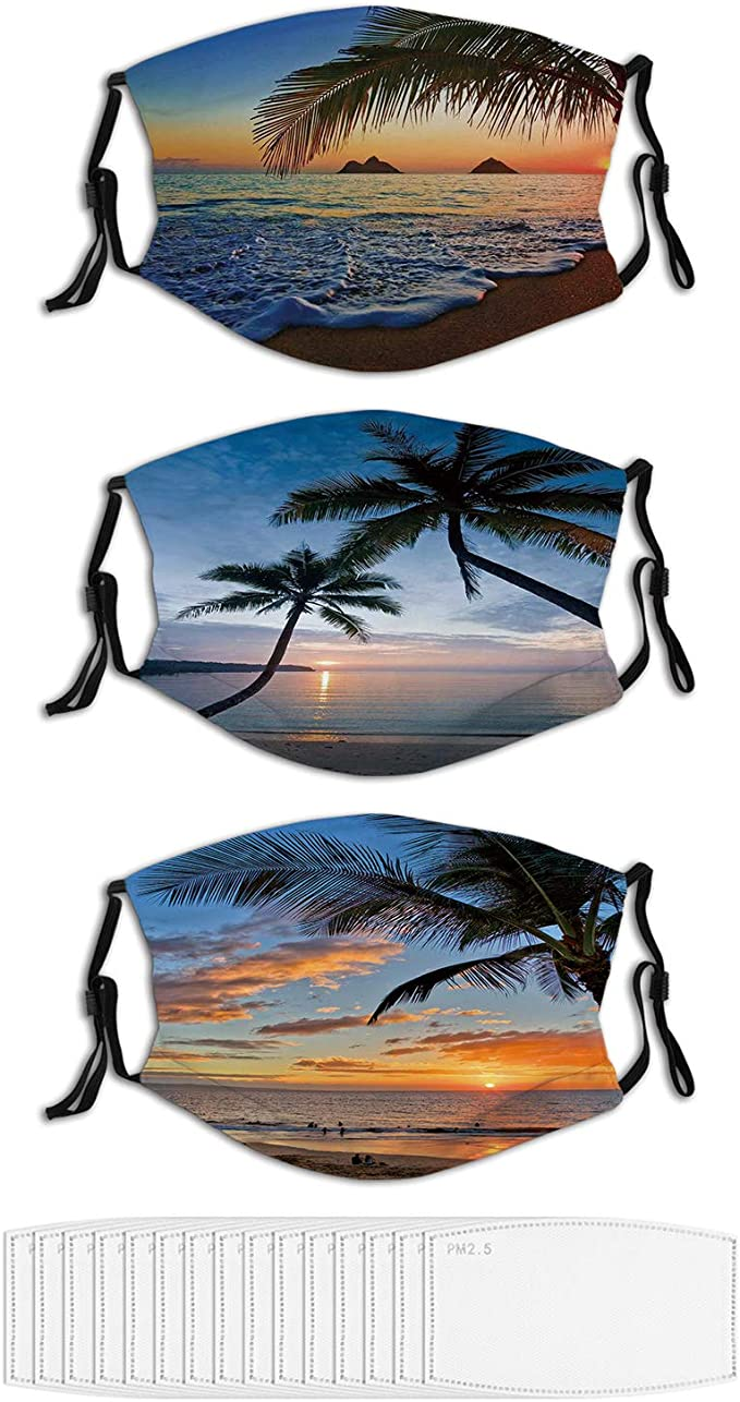 Hawaiian Face Masks