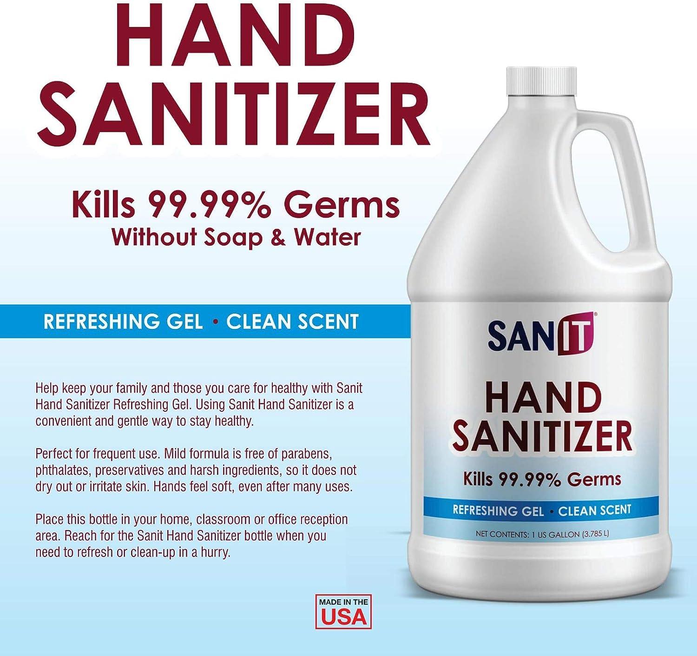 Sanit Hand Sanitizer Gel