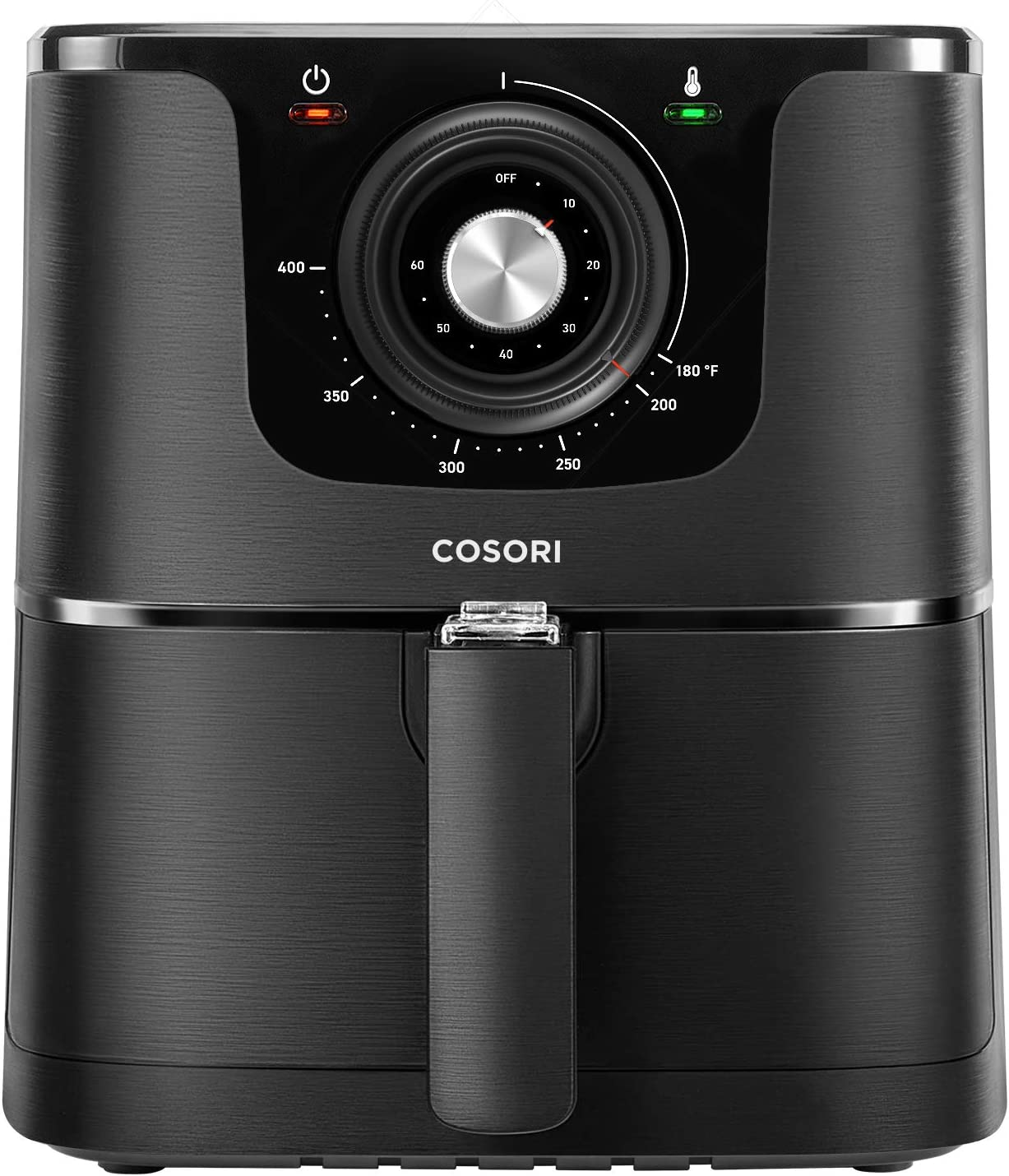 COSORI Air Fryer, Max XL 5.8-Quart, 1700-Watt Electric Hot Air Fryer Oven Oilless Cooker With Deluxe Temperature Knob Control, Nonstick Basket,Recipe Cookbook Included,ETL Listed