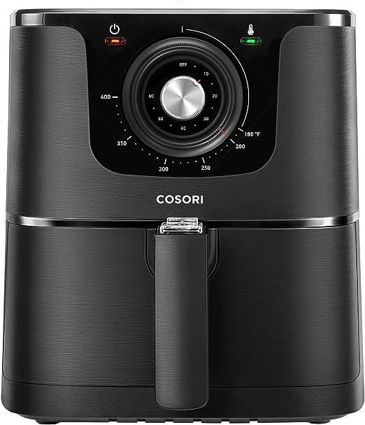 COSORI Air Fryer, Max XL 5.8-Quart, 1700-Watt Electric Hot Air Fryer Oven Oilless Cooker With Deluxe Temperature Knob Control, Nonstick Basket, Recipe ...