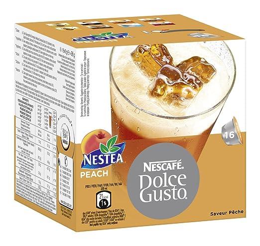 Nescafé Dolce Gusto Nestea Peach, Paquete de 3, 3 x 16 Cápsulas ...