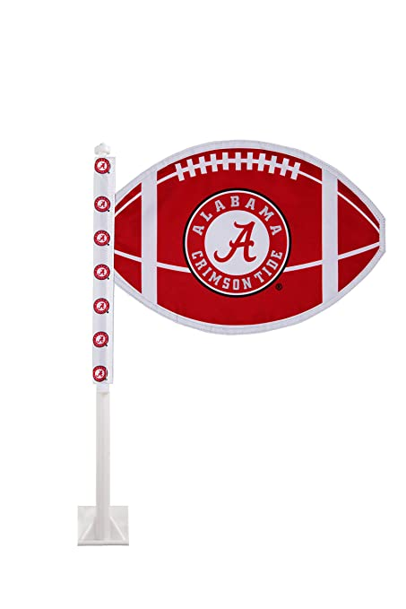 Amazon Com University Of Alabama Car Flag Officially Licensed