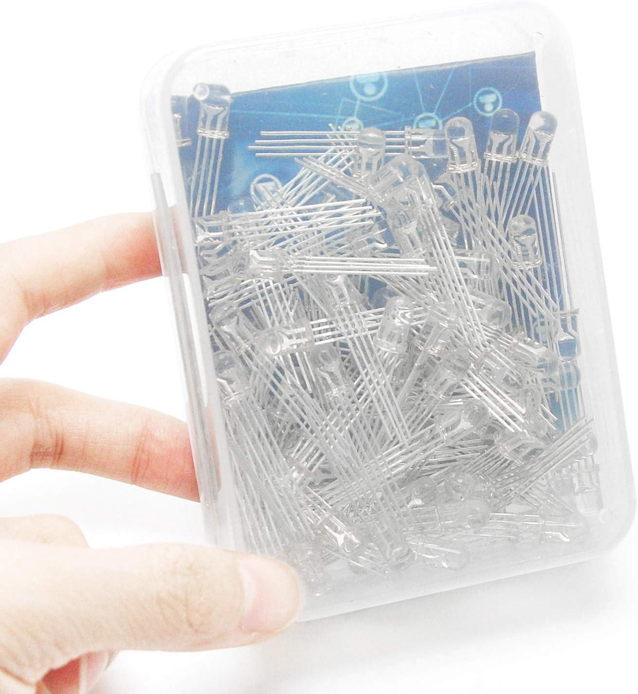 Gikfun EK1443U LED-Anode f/ür Arduino DIY Packung mit 100 St/ück