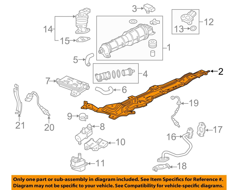 Genuine Honda 17358-T5R-A00 Air Intake Canister Bracket