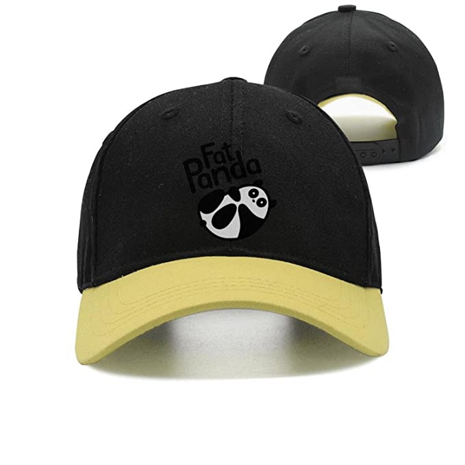 Image Unavailable. Image not available for. Color  Unisex Fat Panda  Breathable Quick Dry Snapback Trucker Cap ... 7daae503a5af