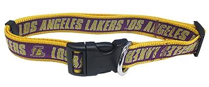 d3687c59ee11 Amazon.com   NBA Los Angeles Lakers Dog Collar
