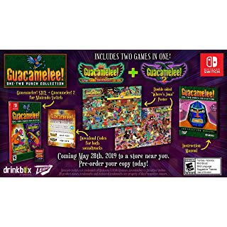 Guacamelee! One-Two Punch Collection - Nintendo Switch  ( Sound Track is available with the digital downloadable code)
