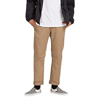 00bcadac1bf Image Unavailable. Image not available for. Color  Volcom Men s Frickin  Modern Fit Stretch Chino Pant