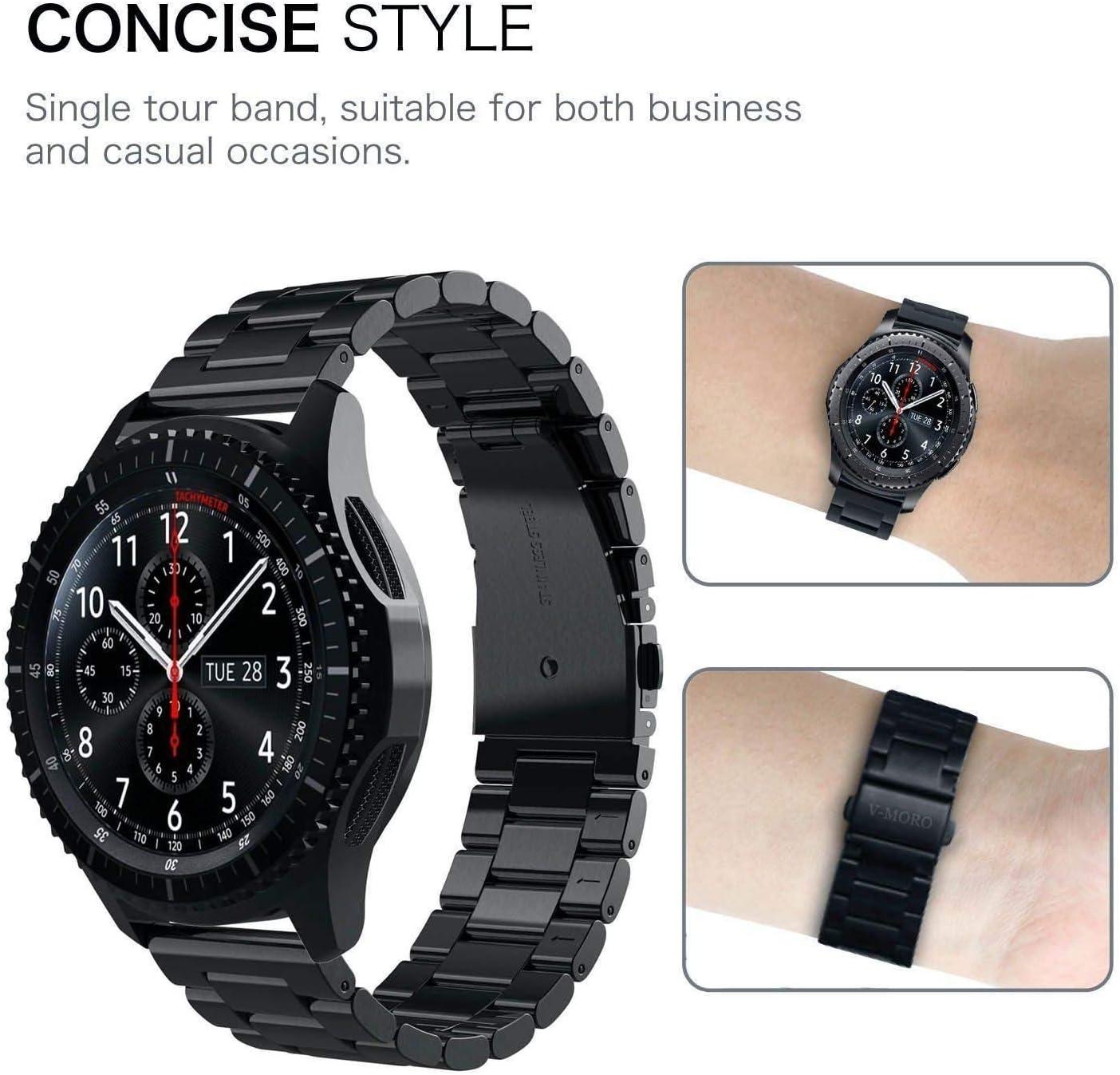 Amazon.com: V-Moro Correa comercial de repuesto para Gear S3 ...