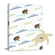 Hammermill Paper, Colors Tan, 20lbs, 8.5 x 11, Letter, 500 Sheets/1 Ream (102863R), Made in the USA