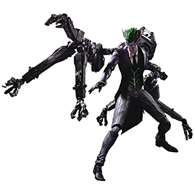 Square Enix DC Comics The Joker Play Arts Kai Action Figure Designed by Tetsuya Nomura: Toys & Games