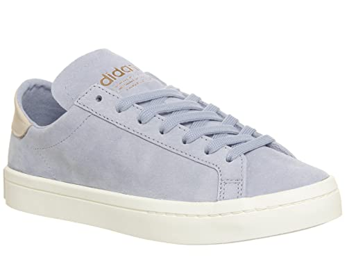 adidas Court Vantage Aero Blue Linen Exclusive - 4 UK