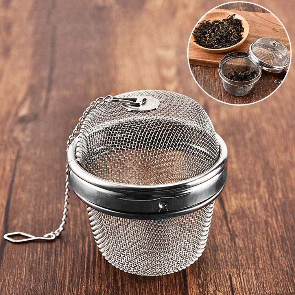 F-blue Esteso Libero Catena Tea infusore in Acciaio Inossidabile Spice Tea Infuser Condimento setaccio condimento Filtro Soup Condimenti Separazione Filtro