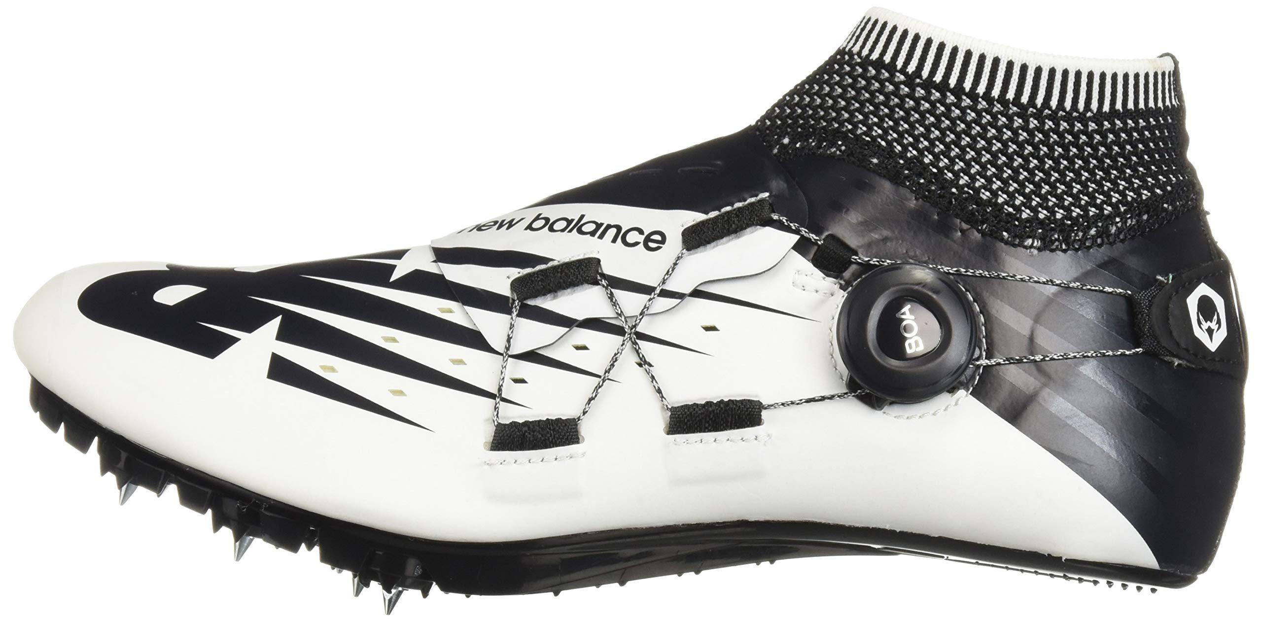 New Balance Men's Sigma V2 Vazee Track Shoe White/Black 4 D US by New Balance (Image #5)