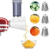 Slicer/Shredder Attachment for KitchenAid Stand Mixers,Cheese Grater Attachment Vegetable Slicer Attachment for KitchenAid,Sa
