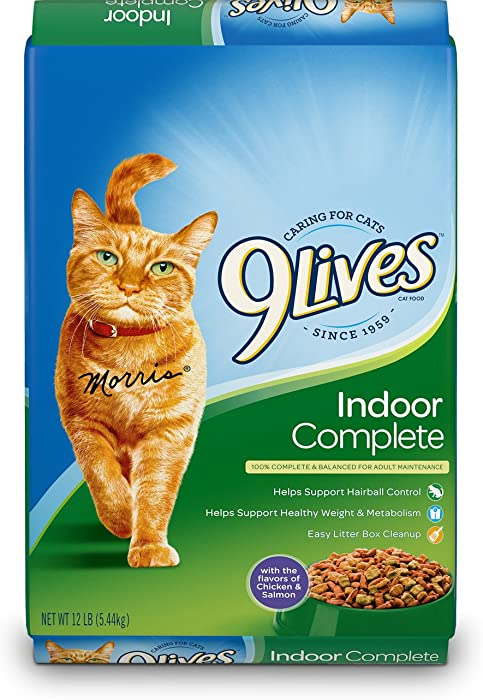 Top 10 9 Lives Indoor Dry Cat Food