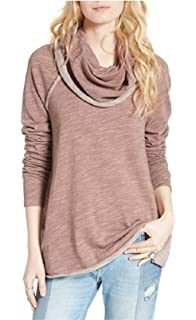 c554326ac3 Free People Women's Cocoon Cowl Pullover at Amazon Women's Clothing ...