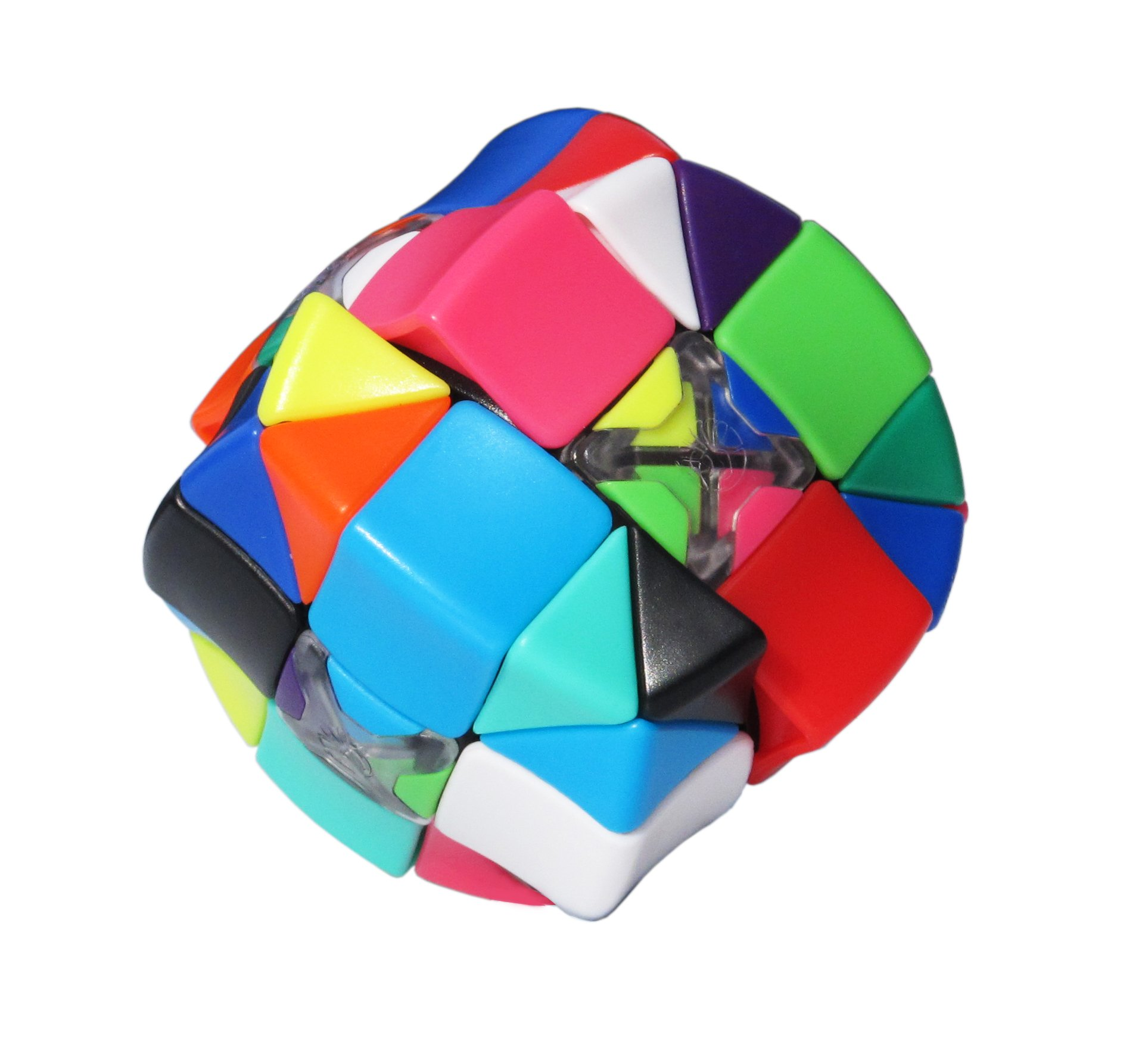 Armadillo Cube: Smooth turning - Stickerless - 12 Candy Colors - Resettable - Awesome Brain Teaser - Advanced 3x3x3 Puzzle - Brand New Challenges - 100% Money Back Guarantee! by Armadillo Cube (Image #6)