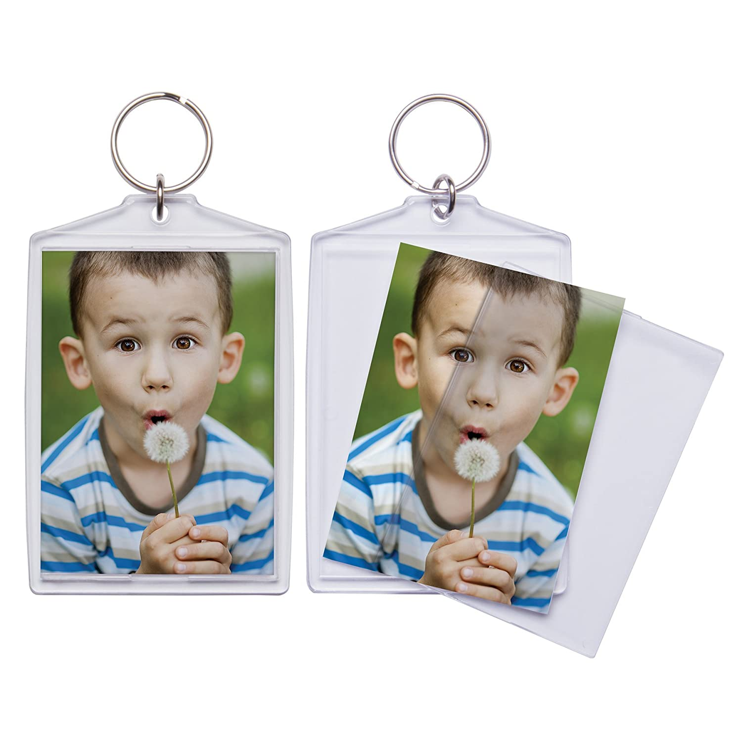 Amazon 25 x 35 jumbo acrylic snap in photo keychains amazon 25 x 35 jumbo acrylic snap in photo keychains pack of 36 jeuxipadfo Choice Image