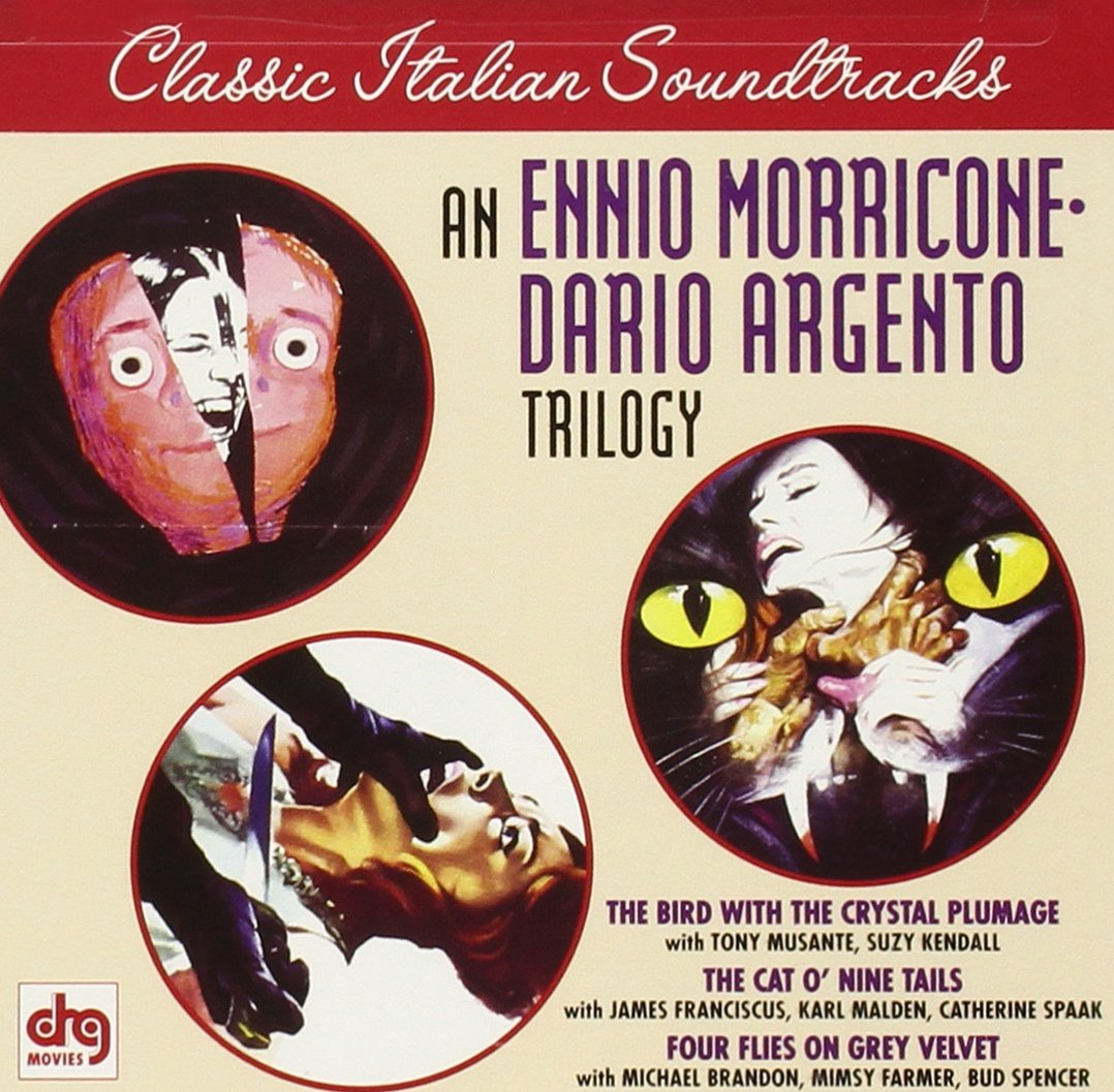 an ennio morricone dario argento trilogy the bird the an ennio morricone dario argento trilogy the bird the crystal plumage the cat o nine tails four flies on grey velvet and argento interview