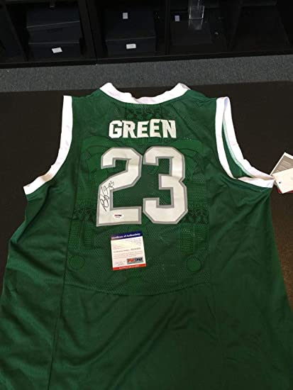 3929d80b815 ireland draymond green signed authentic nike michigan state spartans  college jersey psa ed2ab e8ead
