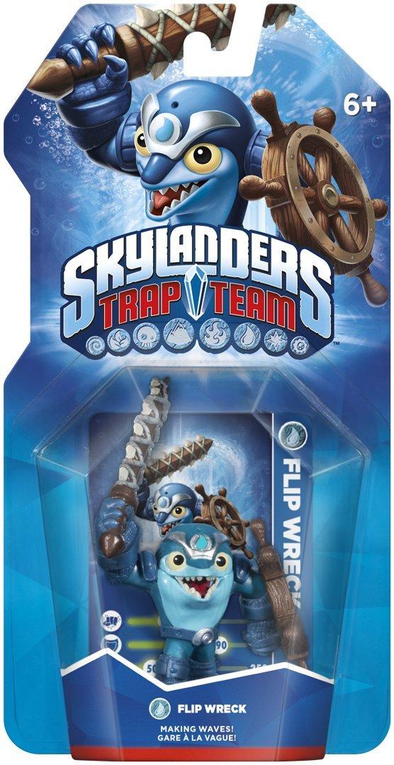 Skylanders Trap Team: Single Character - Flip Wreck: Amazon.co.uk: PC &  Video Games