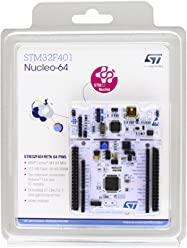 STMicroelectronics NUCLEO-F401RE Model STM32 Nucleo-64 Development Board with STM32F401RE MCU, Supports Arduino and ST Morpho Connectivity