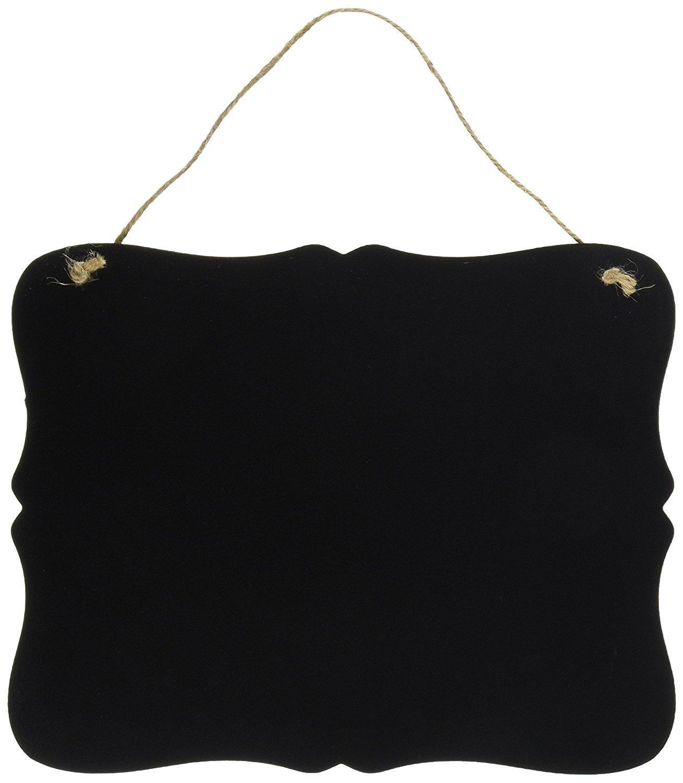 Amazon.com: Cartel pizarra vintage color negro para ...