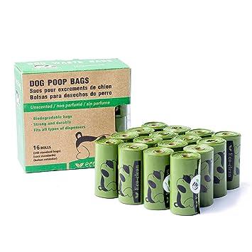 Beschan Biodegradables Bolsas para Excrementos de Perro con ...
