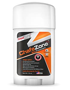 Chafezone Anti Chaffing Stick for Thigh Chaffing Protection - Glide Stick for Chafing 1.5 oz