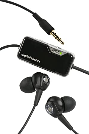 be0a78594bb Digital Silence DS-321D Stereo Digital Ambient Noise Cancelling Headphones  with Microphone - Black (