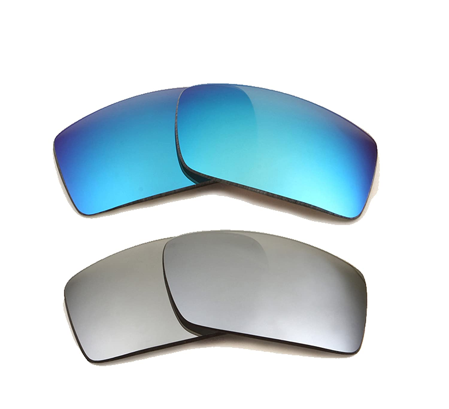 e0b3fbd168 HIJINX Replacement Lenses Polarized Blue   Silver by SEEK fits OAKLEY  Sunglasses at Amazon Men s Clothing store  Replacement Sunglass Lenses