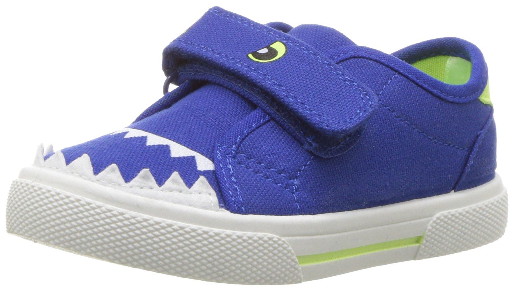 Carter's Unisex-Kids Arya Boy's and Girl's Novelty Slip-on Sneaker, Navy 410, 11 M US Little Kid