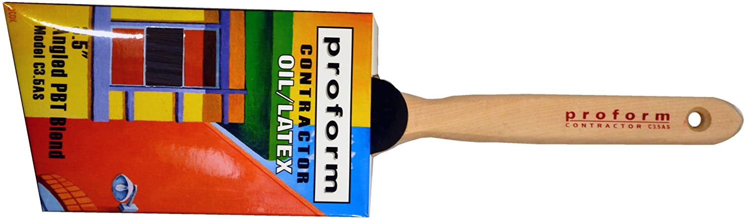 Proform C2.5AS 70//30 Blend Angle Sash Paint Brush 2-1//2-Inch Paint Sundries Solutions
