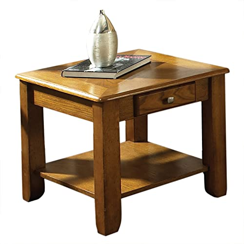 Steve Silver Company Nelson End Table, Oak