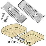 Platte River 941392, Hardware, Table, Table Leaf Hardware, 14 Gauge Leaf Leveler, 10-pack