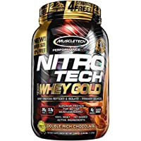 MuscleTech NitroTech Whey Gold and Whey Peptides (2.2 Pound)