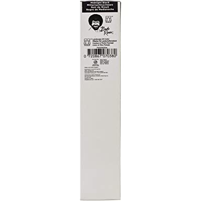 Bob Ross Oil Paint 200ml-Midnight Black: Everything Else