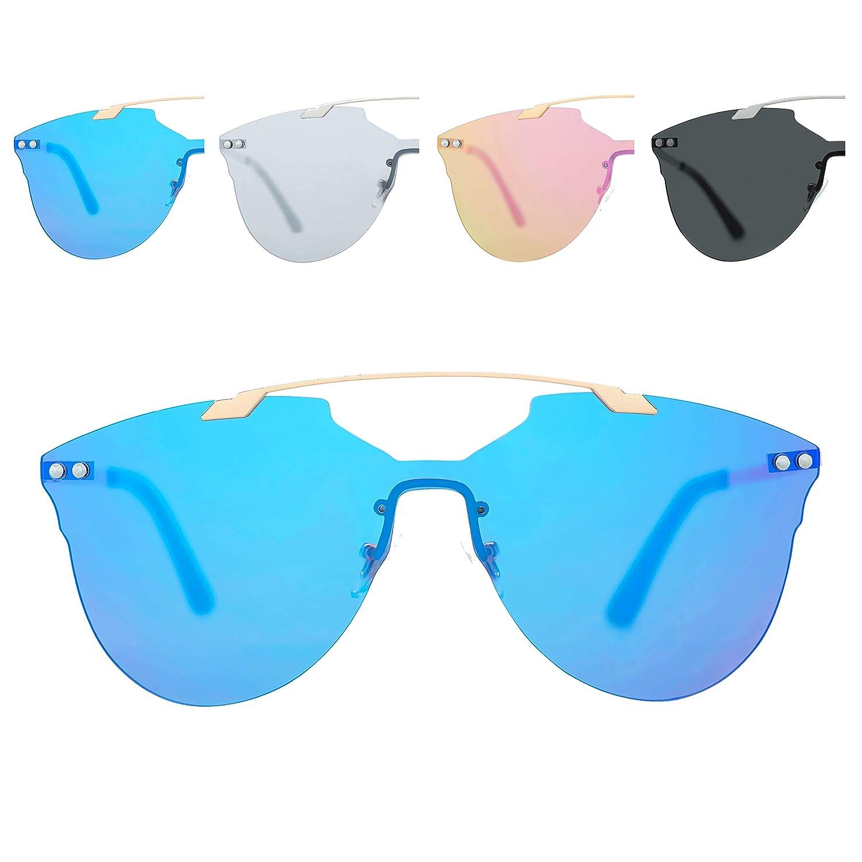 Amazon.com: Tapacubos anteojos de sol para mujeres, hombres ...