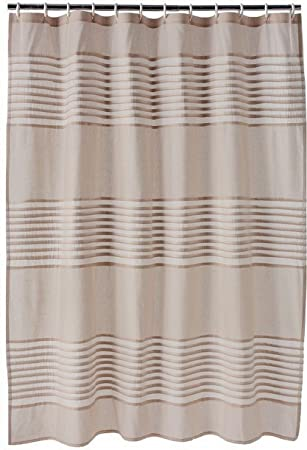 Curtains Ideas apt 9 shower curtain : Amazon.com: Apt 9 Trace Pintuck Fabric Shower Curtain Beige ...