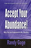 Accept Your Abundance! : Why You Are Supposed to Be Wealthy