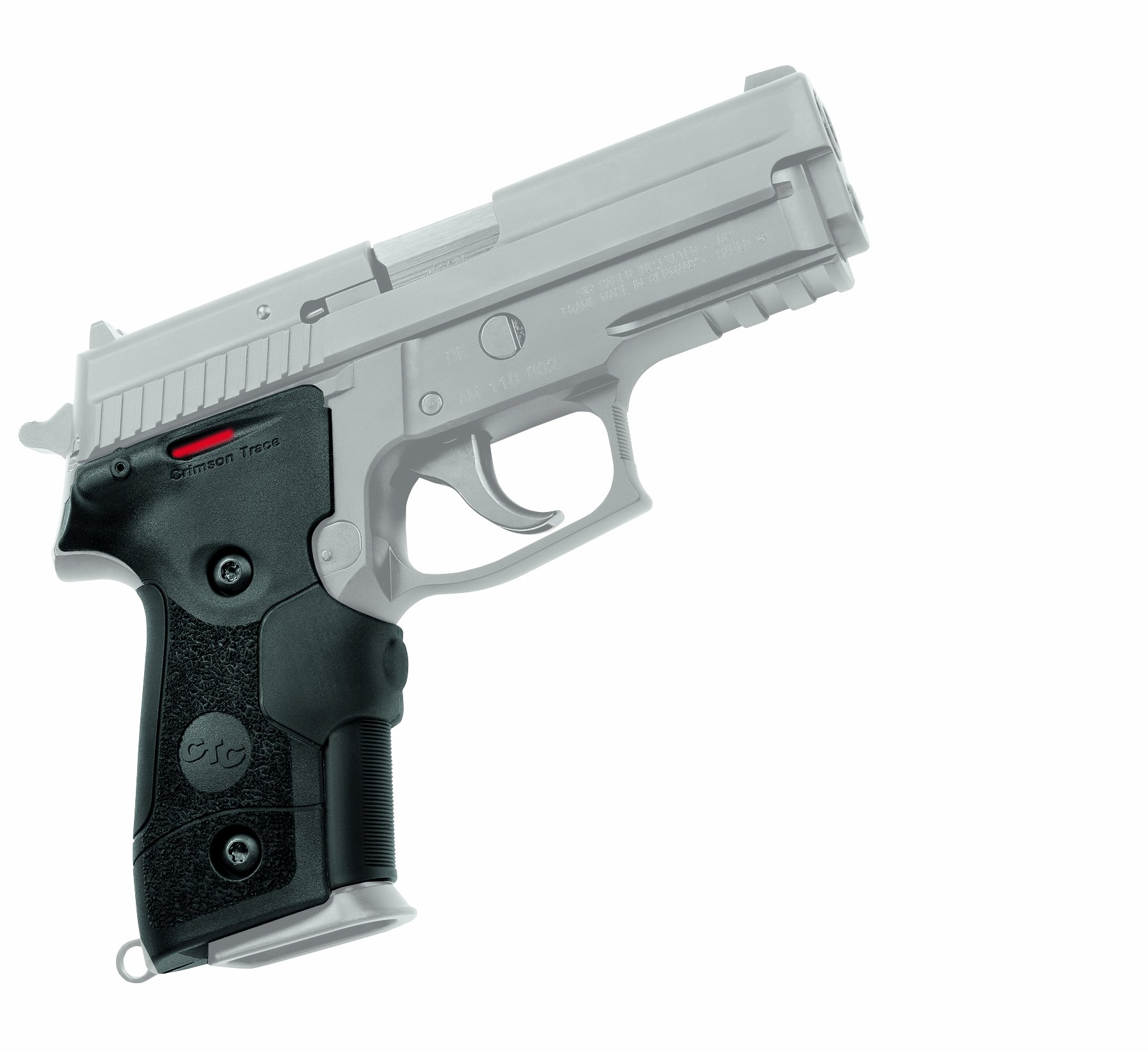 Crimson Trace LG-429 Lasergrips Red Laser Sight Grips for Sig Sauer P228/P229 Pistols